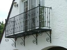 wrought iron balcony for sale - Google Search