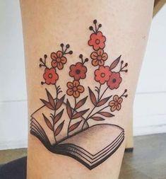 45 Charming Book Tattoo Designs Ideas For Bookworms - VIs-Wed Tattoo Girls, Tattoo Son, Tatoo Art, Girl Tattoos, Tatoos, Ladies Tattoos, Hp Tattoo, Mermaid Tattoos, Arrow Tattoos