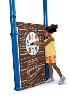 Sunken Treasure Hunt Panel   Playworld Systems® Turn your #playground into a treasure hunt. Spin the dial and search for the treasures hidden throughout the ship. Part of our full line of fun nautical-themed products.