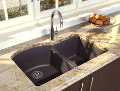 CRISTADUR by Novanni offers a superior grade granite product. Kitchen Faucets, Granite, Sink, Design, Home Decor, Sink Tops, Vessel Sink, Decoration Home, Kitchen Taps