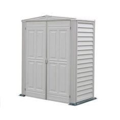 Duramax Building Products Yardmate 5 ft. x 3 ft. Vinyl Shed with Floor-00911 at The Home Depot