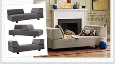See how simple it is to rearrange the Tillary Sofa