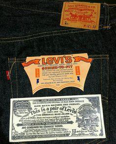 Levi's 501 Atyp dead stock Cargo Jeans, Levis Jeans, Vintage Soul, Levi Strauss & Co, Levis 501, Denim Outfit, Vintage Jeans, Hang Tags, Blue Jeans
