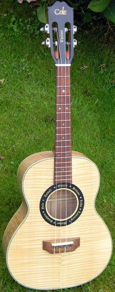 Martin Cole Baritone  #LardysUkuleleOfTheDay ~ https://www.pinterest.com/lardyfatboy/lardys-ukulele-of-the-day/ ~