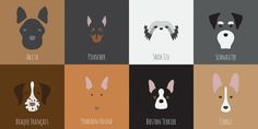 32 MORE Minimalist Dog Breed Illustrations So Spot-On Even Your Dog Can't Deny It
