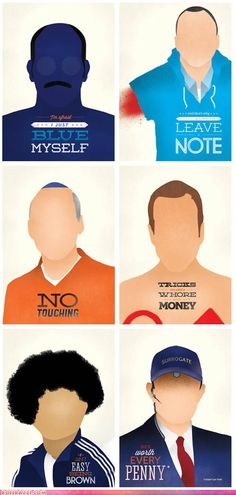 Visual Etiquette's Arrested Development Posters. Hell, yes!