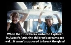 Mind-Blowing Facts About Jurassic Park  Are you ready for Jurassic World? Here's some stuff you never knew about the original. Click for all pics and info