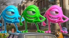 Learn Colors With MONSTERS INC Funny Momment Videos #3 - Learning Video for Kids https://www.youtube.com/channel/UC76YOQIJa6Gej0_FuhRQxJg