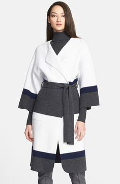 St. John Collection Felted Wool & Cashmere Coat available at #Nordstrom