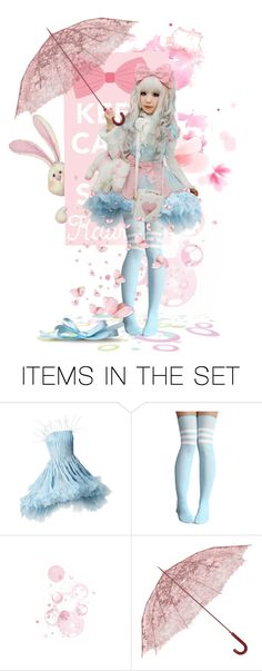 """""""Keep Calm And Stay Kawaii"""" by fashionista1864 ❤ liked on Polyvore featuring art"""