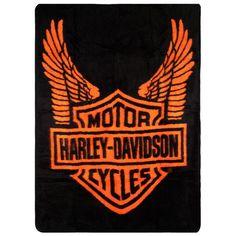NEW HARLEY DAVIDSON motorcycle logo Couch Bed 50x60 Sz Blanket camoflouge Bike