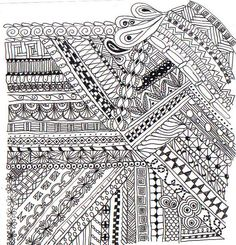 Pin by jessy sheriff on doodle in 2019 картинки, трафареты Tangle Doodle, Tangle Art, Zen Doodle, Doodle Art, Zentangle Drawings, Doodles Zentangles, Doodle Drawings, Doodle Designs, Doodle Patterns