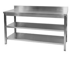 Restaurant Kitchen Island stainless steel kitchen; peri wolfman love this big stainless
