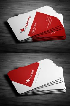 Adley Electrical - logo and business cards | Designify | Pinterest ...
