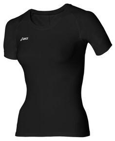 Asics shirt korte mouw Inner Muscle ondergoed zwart dames? Bestel bij Hardloopaanbiedingen.nl