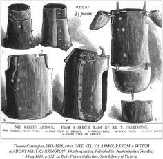 224 best ned kelly images on pinterest ned kelly armour and body ned kelly armour ned kelly armours australia sketches history school maxwellsz