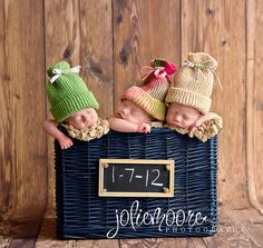 Triplets! But like this for one bundle of joy too!!