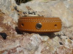 cuff/recycled leather cuff bracelet/unisex by longshotleather #leathercuffs #upcycledleathercuffs #longshotleather