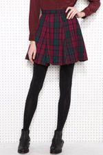 Renewal O Tartan Skater Skirt, Urban Outfitters