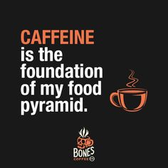 It might be the only thing on my pyramid... #coffee #maplebacon bonescoffee.com