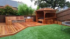 Read on to discover some great, modern garden decking ideas that will totally transform your garden. tag: garden decking ideas designs photos, garden decking ideas for small gardens on a budget, garden decking ideas slopes Small Garden Decking Ideas, Small Garden On A Budget, Sloped Garden, Pergola Ideas, Diy Pergola, Outdoor Decking, Garden Ideas, Rustic Pergola, Pergola Curtains