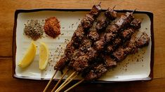 Uyghur spicy beef skewers recipe : SBS Food