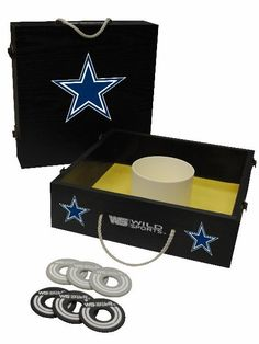 Dallas Cowboys Tailgate Washer Toss Game