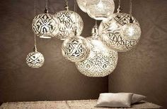 These stunningly beautiful lights by Zenza are handmade in Egypt, each piece is unique they look amazing as a central light in any room or put several together for a real wow statement.