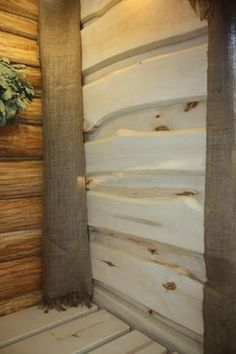 Home Renovation, Home Remodeling, Oak Frame House, Carved Wood Wall Art, Exterior Stairs, Cabin Kitchens, Cabin Design, Wood Interiors, Concrete Wall