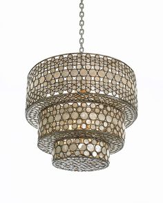 Make a big design statement with this #chandelier by #CenturyFurniture. #lighting