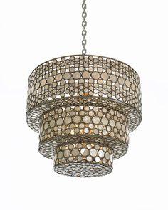 Make a big design statement with this #chandelier by #CenturyFurniture. #lighting