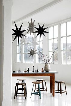House Doctor paper christmas stars - Danish Design!