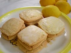 Lemon Glazed Cookie Recipe. Great go to cookie.  Make dough ahead and freeze several months.  Defrost and bake; brush with an awesome lemon glaze. Light, bright, refreshing, and satisfying,  will make this again and again.
