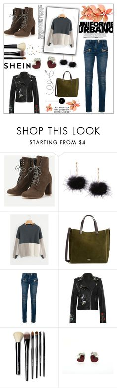 """""""Untitled #224"""" by srna123 ❤ liked on Polyvore featuring Frances Valentine, Balmain, WearAll and Bobbi Brown Cosmetics"""