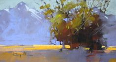 Tree Study, with shadows by Tony Allain