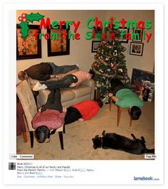 Haha. Merry Christmas from the Planks