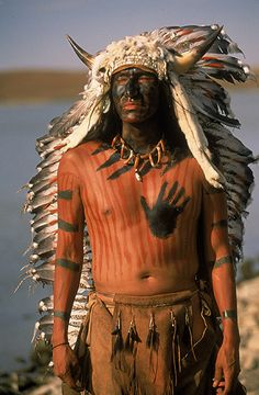 Sioux Man - National Geographic -- over a hundred years have passed and still people take our pictures without naming who we are....