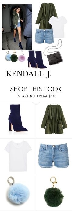 """""""Untitled #47"""" by lessanetupac ❤ liked on Polyvore featuring Gianvito Rossi, Splendid, MM6 Maison Margiela, Frame, Etienne Aigner, MICHAEL Michael Kors and Helen Moore"""