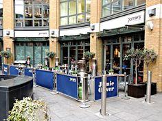 Os fabulosos restaurantes de Jamie Oliver - Jamie's Italian St Martin's Courtyard, Covent Garden