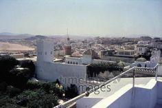 Tanger, 1962 Czychowski/Timeline Images #1960 #60er #60s #Marokko #Morocco #Stadtansicht #Stadtbild #Landschaft #Landscape #Cityscape #Sultanspalast #Tangier
