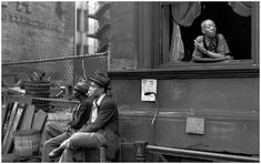 Henry Cartier Bresson , Harlem 1947