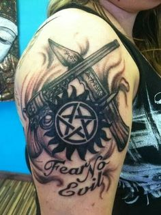 Amazing Supernatural tattoo!