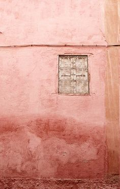 Wall and window ~ Sidi Mimoum Marrakech Morocco