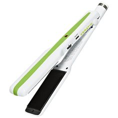 I just ditched my chi for this.  BEST EVER!  Leaves hair straight and silky, cuts straightening time in half! The One 'n Only Brazilian Tech Flat Iron is a professional straightener with titanium plates infused with keratin.