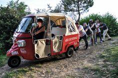 Amici del calessino al Brich di Zumaglia, viaggio in nord Italia #viviamopositivo #TheGira