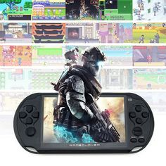 """Handheld Game For GBA Games Consoles Built-in 3000 Classic NES Games MP5 Child Game Console With 5.0"""" Screen 8GB Portable"""