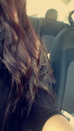 my violet brown hair