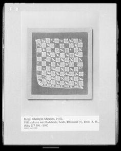 koln fragment 14th Museum, 14th Century, Fiber Art, Medieval, Rheinland, Braid, Silk, Embroidery, Pictures