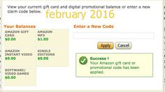 Printable Coupons: Amazon Coupons Amazon Card, Amazon Gifts, Dollar General Couponing, Coupons For Boyfriend, Free Printable Coupons, Gift Card Generator, Love Coupons, Grocery Coupons, Extreme Couponing