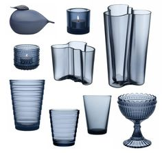 iittala rain Glassware, Scandinavian Design, Modern Interior, Decor Design, Kitchen Interior, Interior Decorating, Decor Interior Design, Glass Design, Nordic Design